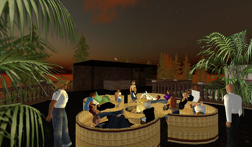 Bloggers Cafe in SecondLife