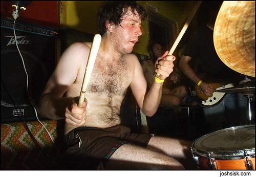 denny bowen of Double Dagger @ whartscape 2007