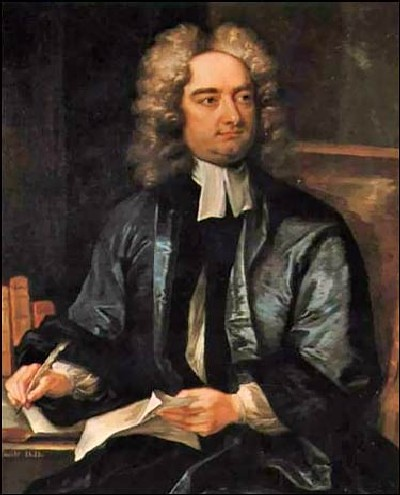 Jonathan SWIFT  (1667-1745) - Anglo-Irish Writer, Satirist