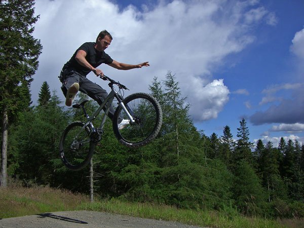Glentress bike park
