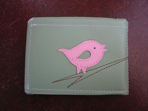 My new chirp wallet from Queen Bee
