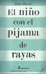 portada del libro el niño con el pijama de rayas de Boyne