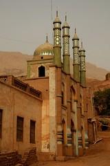 DSC_1091_tuyuguo_mosque (kdriese) Tags: china church muslim religion mosque uighur xinjiang silkroad turpan taklamakan turfan nikond200 may2007 kendriese tuyuguo