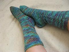 Jutta's socks, complete