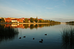 Before sunset (Rafal Bergman) Tags: city sunset lake beautiful beauty day d70 mazury ducks poland polska elk warmia 18200mmf3556gvr ek mywinners