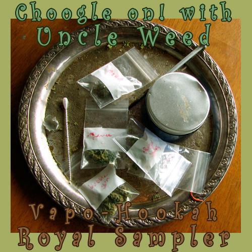 Vapo-Hookah Royal Sampler - Choogle on