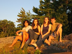 good looking group (y2bk) Tags: jason ontario canada molly annie goldenhour bk selftake pointeaubaril pointeaubarilcom