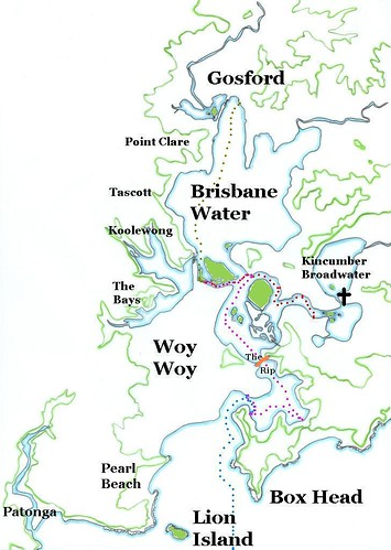 Ferry routes of Brisbane Water