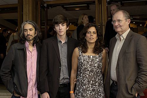 ANAND TUCKER (DIR), MATTHEW BEARD, JIM BROADBENT WHEN DID YOU LAST SEE YOU FATHER RED CARPET  23/08/2007