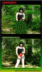 Censored \ UNcensored (PhotoComiX) Tags: illustration gimp kaleidoscope censorship censored vignette satira censura uncensored gimping censurato photoshoppped poilitical senzacensura censoreduncensored