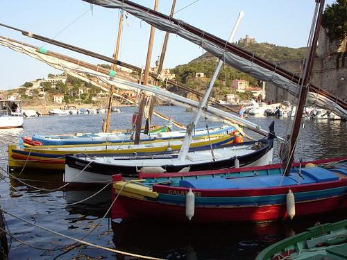 Collioure Cotlliure - Les Barques