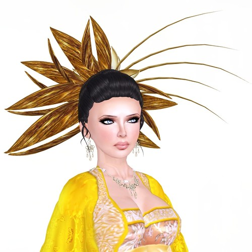 JE*REPUBLIC - Runway - Secret Flower Hair by you.