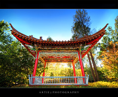 The Chinese Pavilion, Wagga Wagga :: HDR (Artie | Photography :: I'm a lazy boy :)) Tags: china roof architecture photoshop canon design cs2 chinese australia wideangle structure handheld newsouthwales pavilion 1020mm pillars botanicalgarden hdr artie waggawagga 3xp sigmalens photomatix chinesepavilion tonemapping tonemap 400d rebelxti