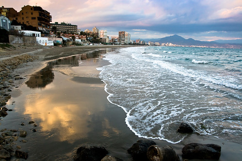 San Juan Beach in Alicante