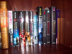New Bookshelf. (Castiel Winchester) Tags: urban dead james high ride meg books romance fantasy kelley patterson eden powers jonas paranormal armstrong generation avalon cabot maguire maximum darkest