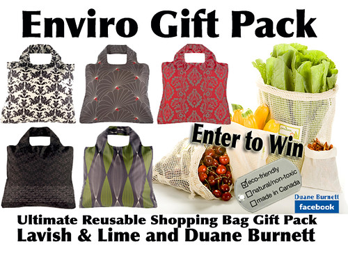 WIN 1 of 2 Lavish & Lime Ultimate Reusable Bag Gift Packs