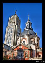 Madrid, La Metrpolis ( Marco Antonio Soler ) Tags: madrid espaa la spain edificios nikon ciudad iso 09 metropolis jpg 2009 hdr diciembre d80