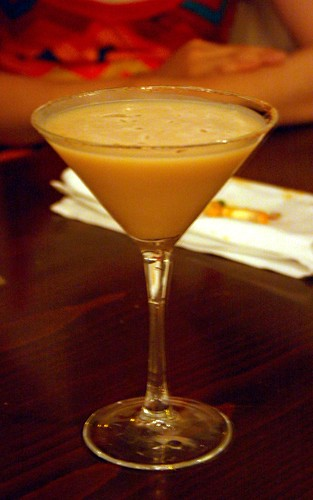 Chocolate Coconut Martini