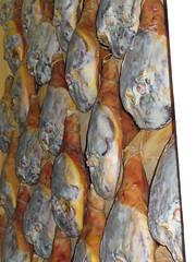 Fabrique de jambon fumé à Piran