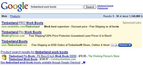 Google Checkout with Google Adwords and Google Product Search
