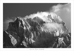 Cerro Paine Grande (a tribute to Ansel Adams) (HaukeSteinberg.com) Tags: chile morning blackandwhite bw patagonia mountain lake snow mountains ice clouds canon landscape eos dawn blackwhite bravo good sigma selection glacier cerro andes torresdelpaine schwarzweiss landschaft coolest soe cuernos anseladams torres paine glacial 70300 naturesfinest blueribbonwinner sdamerika southamerika supershot flickrsbest cuernosdelpaine 400d mywinner abigfave shieldofexcellence sigmaaf70300mmf456apodgmacro anawesomeshot impressedbeauty holidaysvancanzeurlaub superbmasterpiece diamondclassphotographer flickrdiamond excellentphotographerawards patagoonia fineimage samericagallery