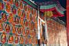 Buddha wall paintings at Tashilhun…