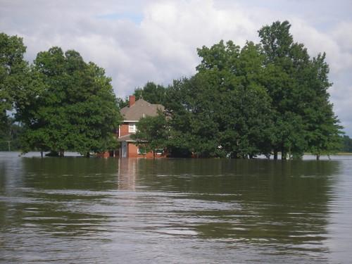 Grandmom's house flooding