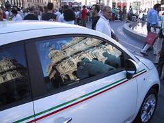 Fiat 500 a Genova