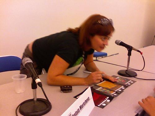 Aglaia Mortcheva (Making Fiends), San Diego Comic-Con, 07/26/07