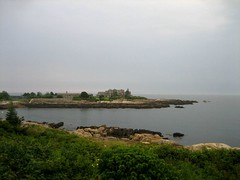 the Bush compound