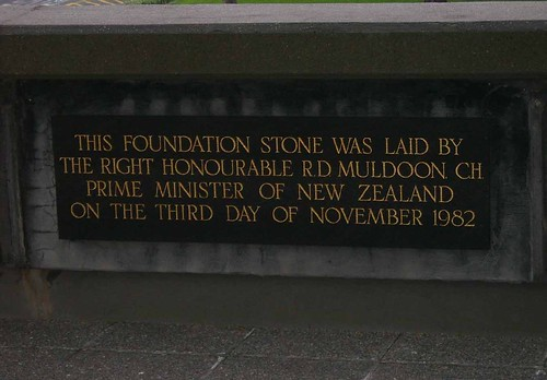 National Library of New Zealand Foundation Stone