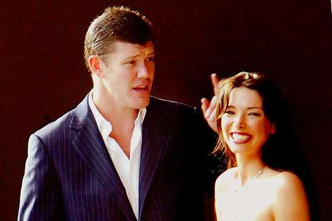 james packer erica baxter. James Packer and the soon to