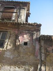 three roof steps (MadalenaPestana) Tags: street old city roof light sunset shadow summer sky house portugal window fire europe lisboa lisbon steps fuego varanda madalenapestana freesecretlife