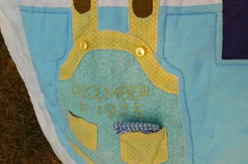 Laundry Line Quilt Detail 2