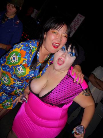 Margaret Cho with Beth DItto