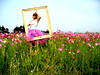 see how much fun you can have with the tutu?? (artsy_T) Tags: field frame tina tutu artsyt travelingtutu fieldoflfowers