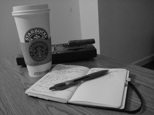 Coffee, Cigar, and Moleskine