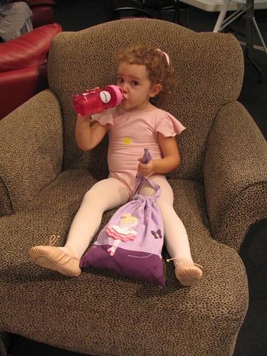 thirsty ballerina