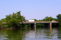 BRIDGE K098: Outwater Lane Bridge over Passaic River, New Jersey (jag9889) Tags: bridge puente newjersey google kayak crossing nj bridges ponte kayaking pont brcke paddling waterway 2007 passaicriver bergencounty passaiccounty njdot y2007 jag9889 bridgesbykayak k098 kayakbridgesset