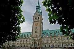 City Hall - Hamburg (BEN_GER) Tags: roof green d50 nikon cityhall hamburg 1855mm grn rathaus dach freiehansestadt