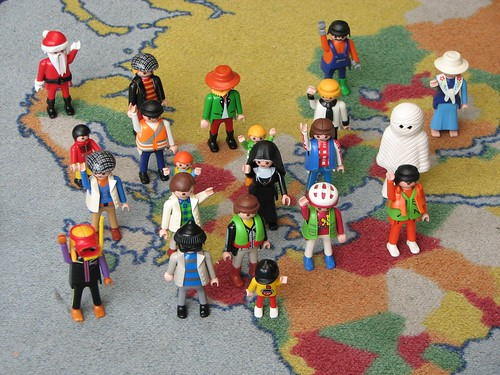 www.flickr.com: Greetings from european Playmobils