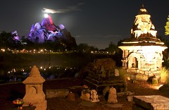 Everest (Imagineering My Way) Tags: night canon eos canoneos10d disney 10d nightshots wdw waltdisneyworld everest animalkingdom