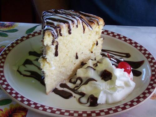 red iguana dessert