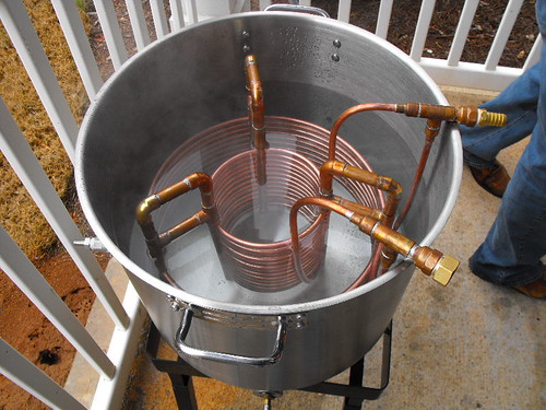 Built This Rib Cage Wort Chiller Today Much Easier