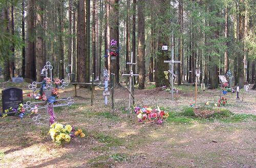 Levashovo Memorial Cemetry.