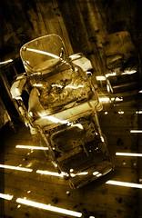 Filo (Macuache) Tags: california wood old texture shop sepia angel del canon mexico town madera chair silent grunge ghost hill pueblo valle zaragoza silla barber horror terror baja museo viejo fantasma mexicali 550 barberia t2i macuache