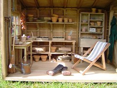 Garden Shed by Sue Simpson