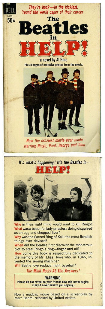 The Beatles_HELP_tatteredandlost