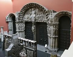 Plaster Cast Portico