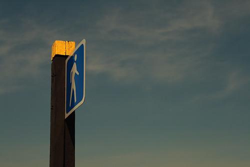 Walk Flat Man 2985